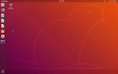 Escritorio Ubuntu 18.04