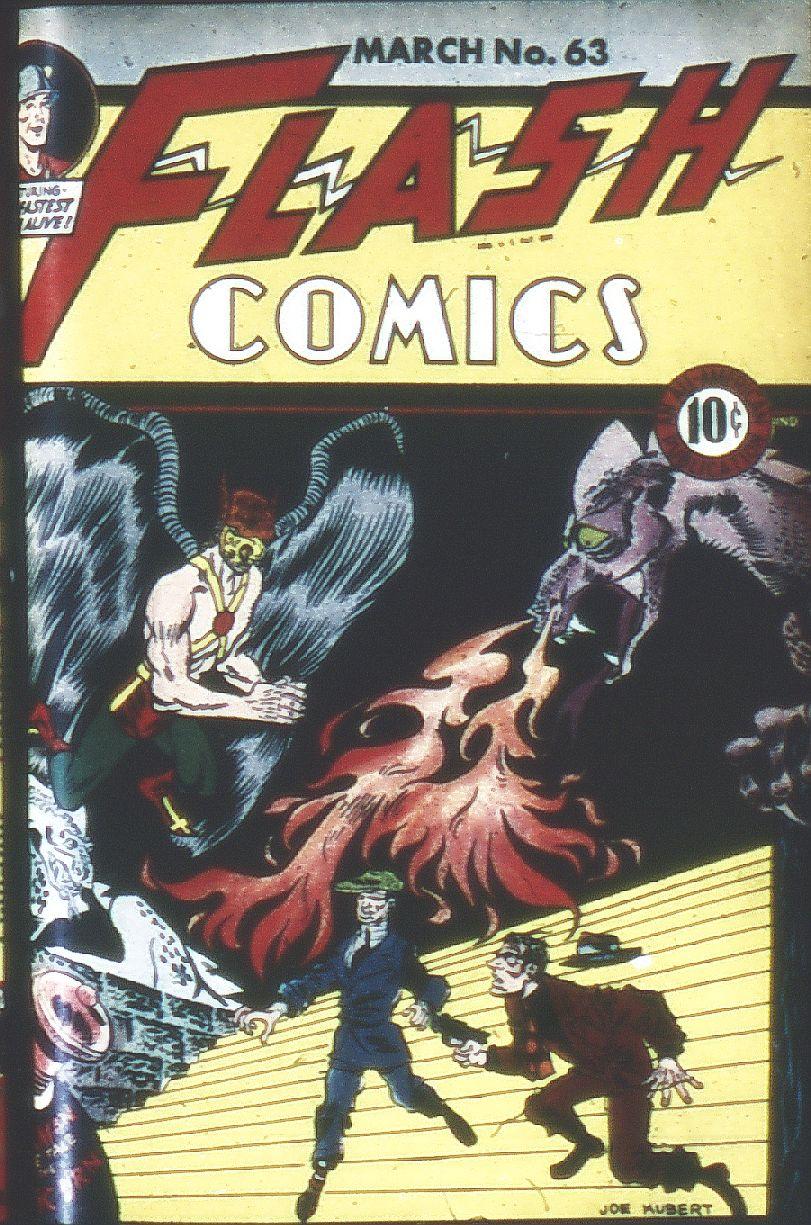 Flash Comics 63 Page 1