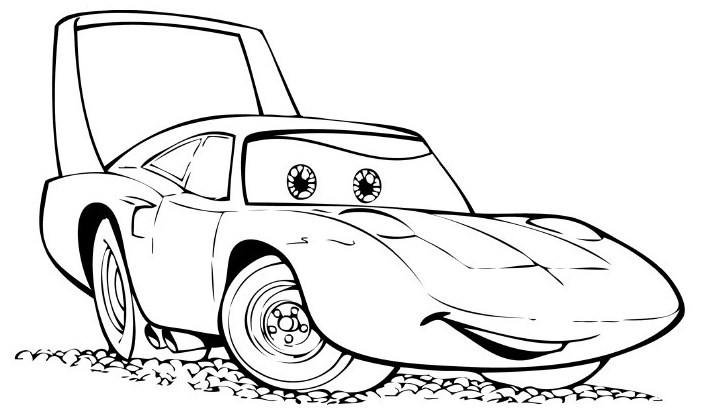 Desenhos Para Pintar: Desenhos Disney Carros Para Colorir