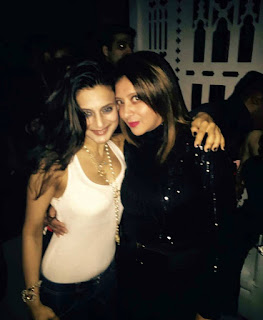 Amisha patel at Friend's Party