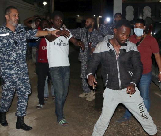 un condemns slave trade africans libya