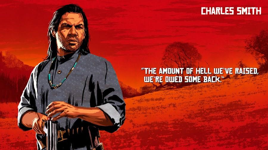 red dead redemption 2 van der linde gang charles smith