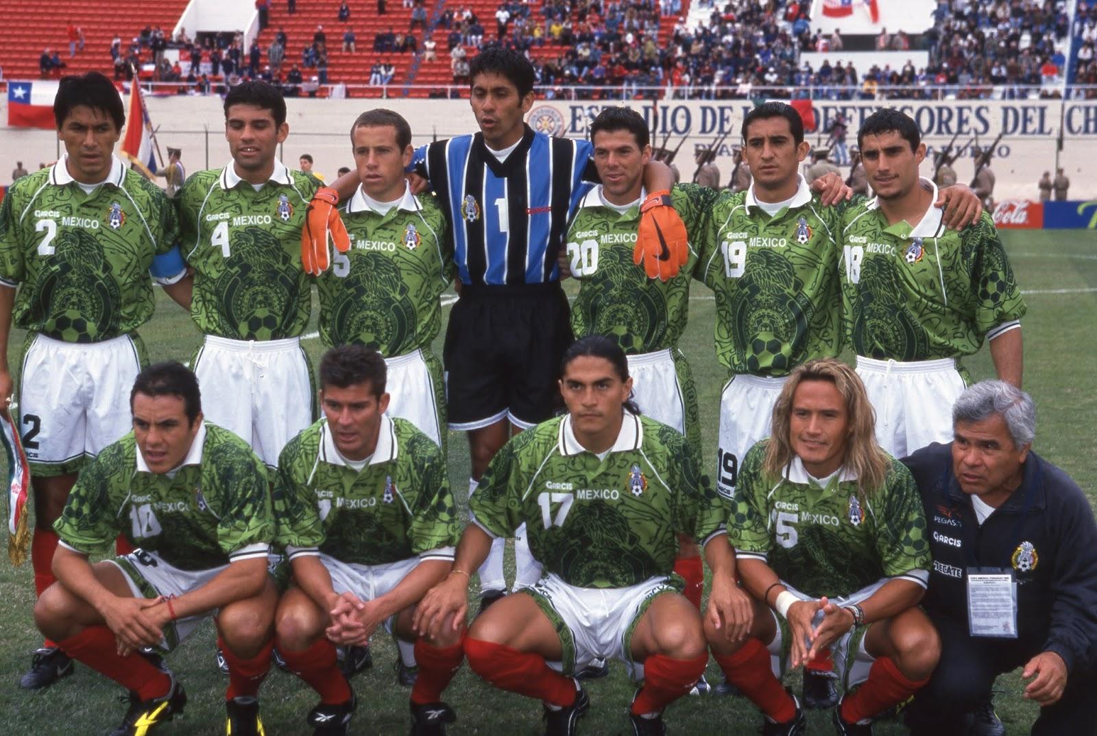 Formación de México ante Chile, Copa América 1999, 17 de julio