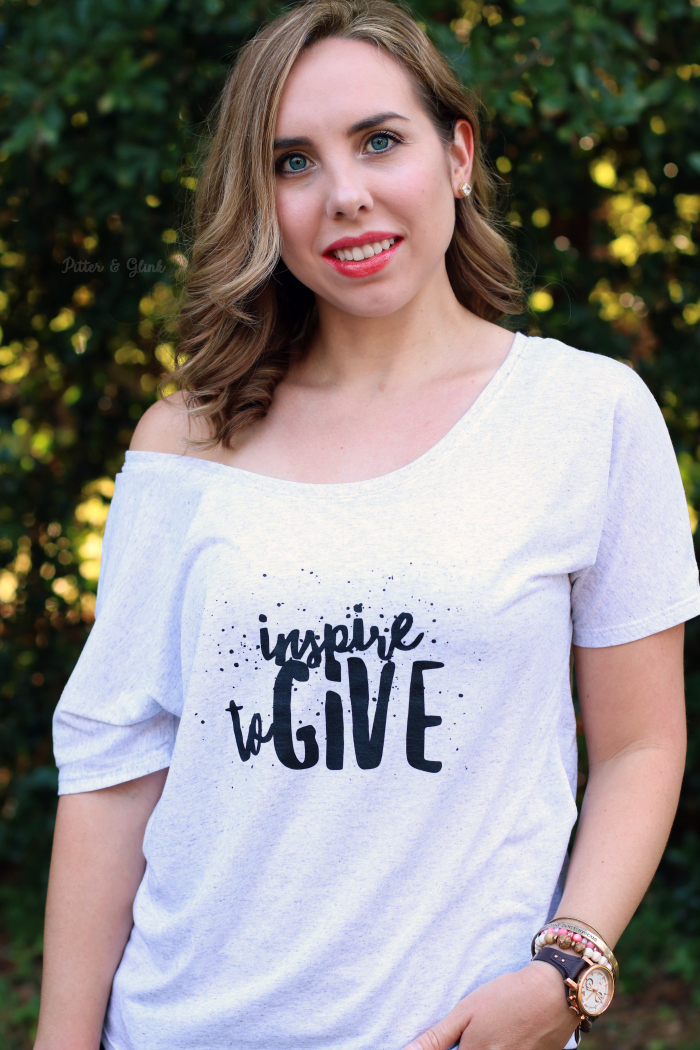 Inspire to Give Tee Lucy's Inspired