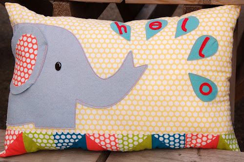 Ellie cushion at The Eternal Maker