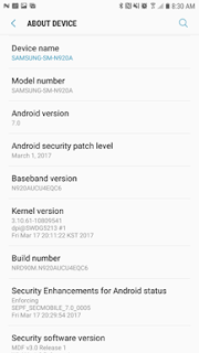 AT&T Samsung Galaxy Note 5 Starts Receiving The Android 7.0 Nougat Update