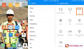 Semua Remote TV, AC, dll Hanya Dengan HP Android Xiomi Note 4