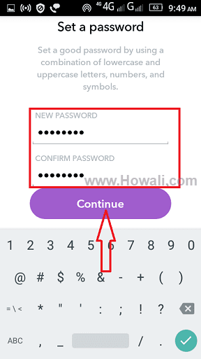 How to reset Snapchat password