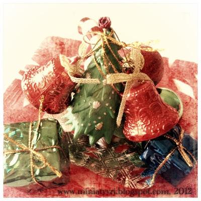 miniatyyri joulukuusi