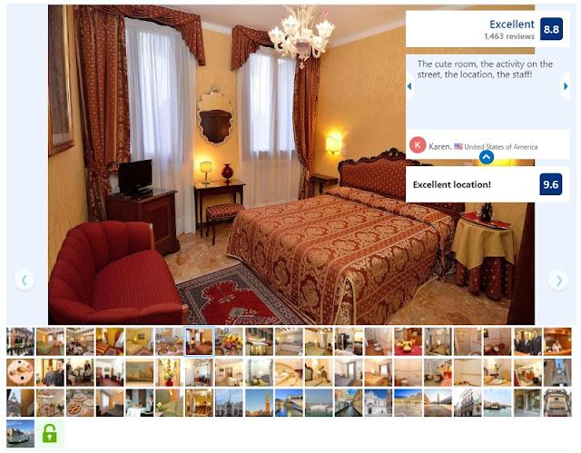 Hotel da Bruno na zona turística de Veneza