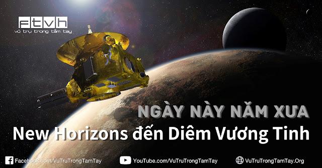 [Ftvh] Ngày này năm xưa : Tàu vũ trụ New Horizons đến Diêm Vương Tinh.
