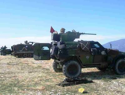 ΓΙΑΝΝΕΝΑ:Βολές τoυ Στρατού στο Πενταλώνι Ζίτσας