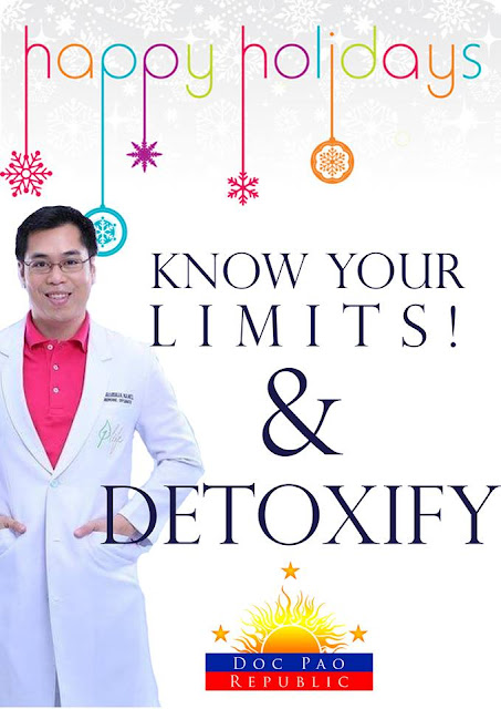A guide to staying healthy this holiday season from Doc Pao