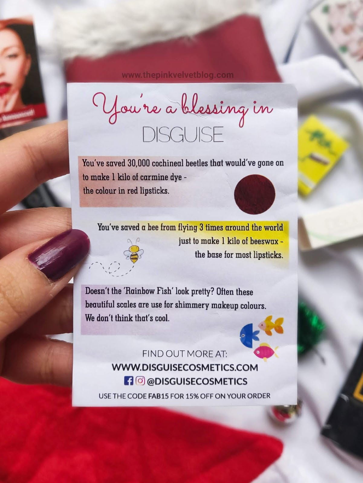 December 2018 FAB BAG Unboxing and Review - DISGUISE Lipstick - Lead Free