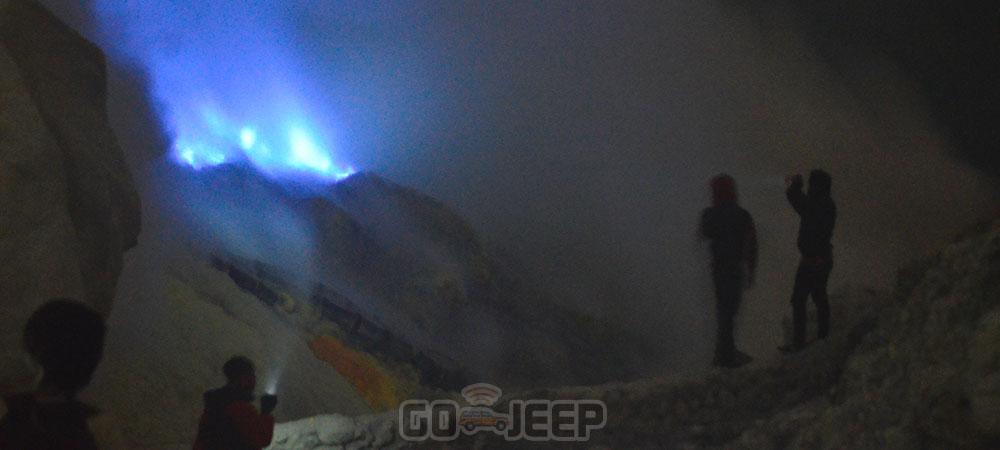 open trip blue fire ijen crater dari Banyuwangi