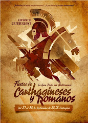 CARTEL FIESTAS CARTHAGINESES Y ROMANOS 2012
