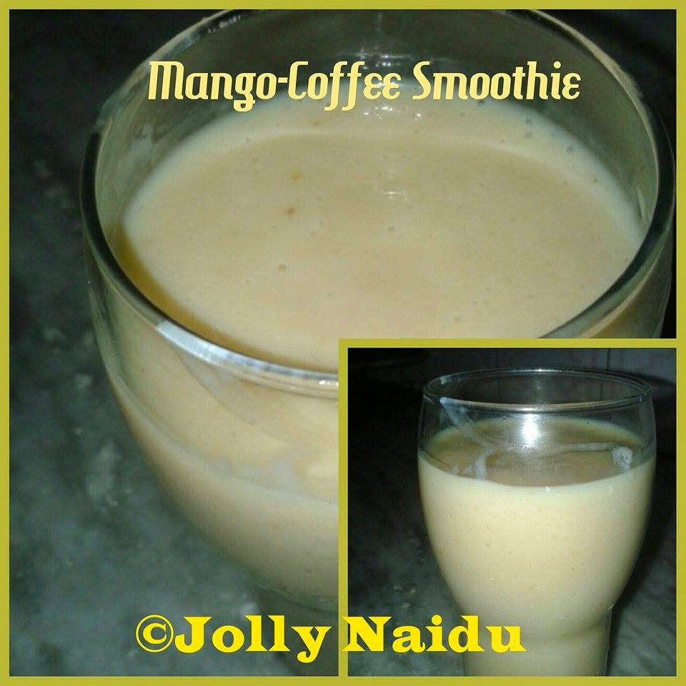 Twisted Mango-Coffee Smoothie