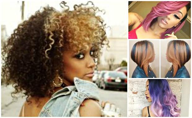 hair color ideas black