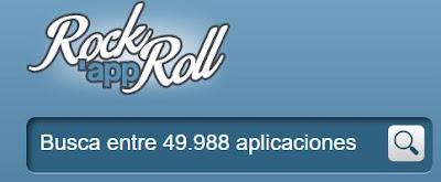 Puedes buscar entre las casi cincuenta mil aplicaciones de RockAppRoll