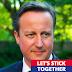"""""""Queremos que se queden"""", dice Cameron a los escoceses"""