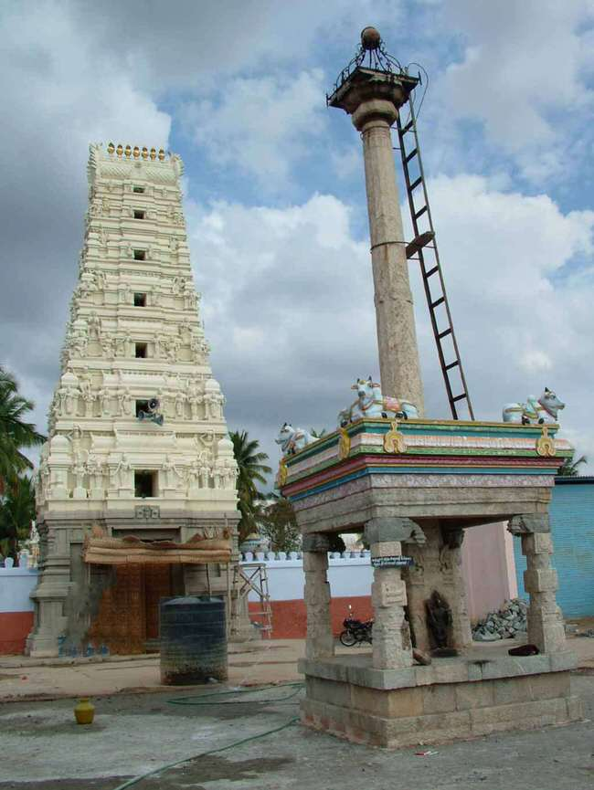 Sri Manneeswarar Temple Raja Gopuram