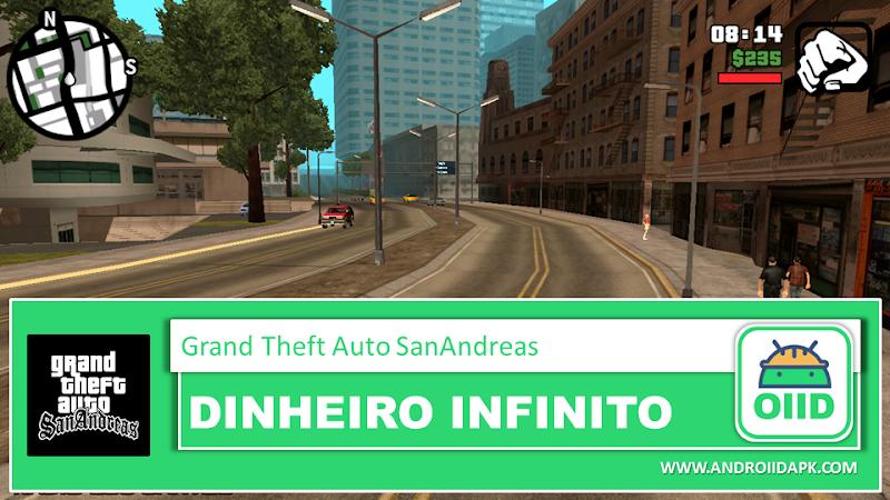 Grand Theft Auto: San Andreas – APK MOD HACK – Dinheiro Infinito