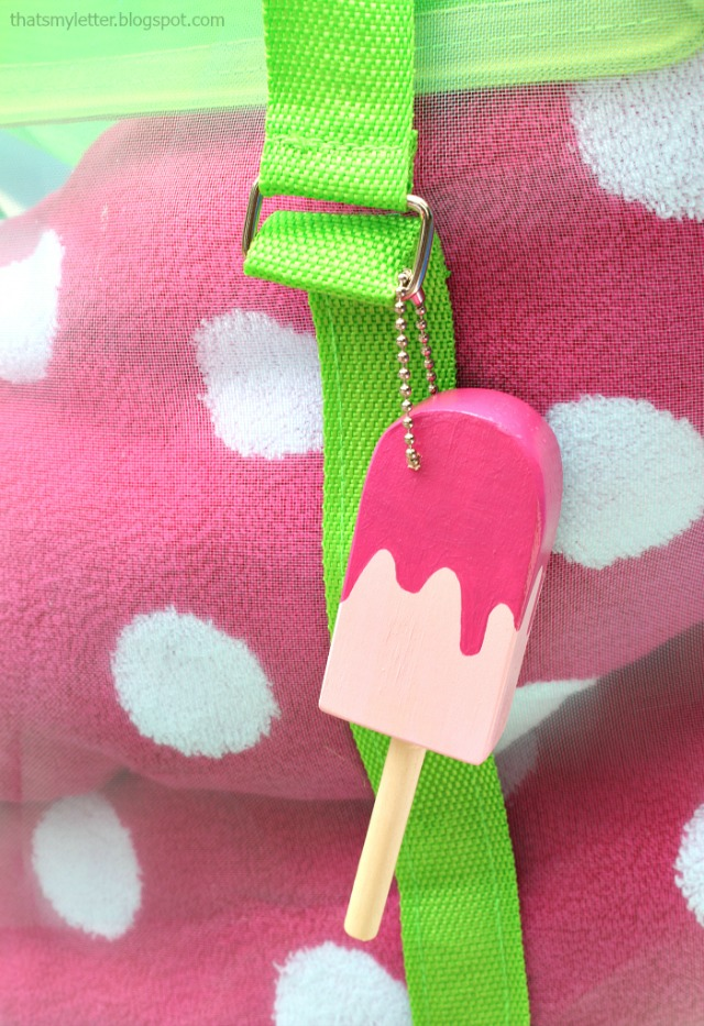 popsicle bag fob favors