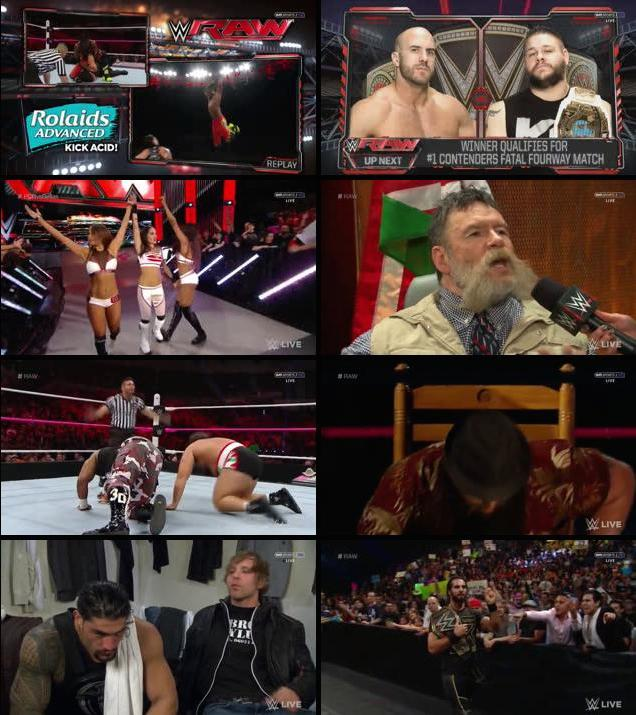 WWE Monday Night Raw 26th October 2015 HDTV 480p