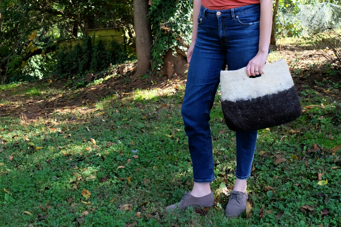 Amalou Wool Felted Handbag review