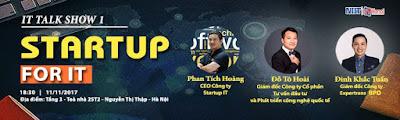 Tọa đàm - Startup For It (it talk show 1)