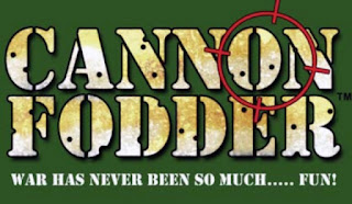 Imagen con el texto: Cannon Fodder : War Has Never Been So Much... Fun