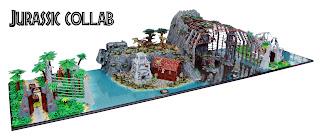 Jurassic Park Jurassic World Lego Diorama