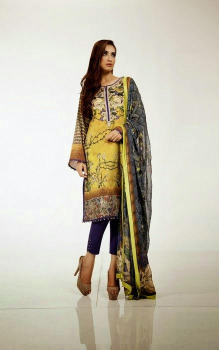 Latest Fahad Hussayn Dresses Eid Collection For Girls