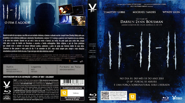 Capa Blu-ray 11-11-11
