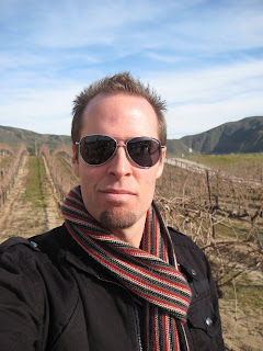Noah at Robert Renzoni Vineyard