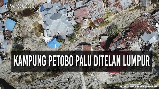 5.000 Orang Diduga Hilang Akibat Likuefaksi di Petobo dan Balaroa