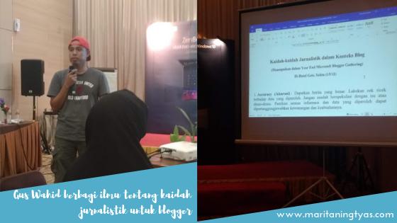 Gus Wahid berbagi kaidah jurnalistik ASUS ZenBook Pro 15 UX580