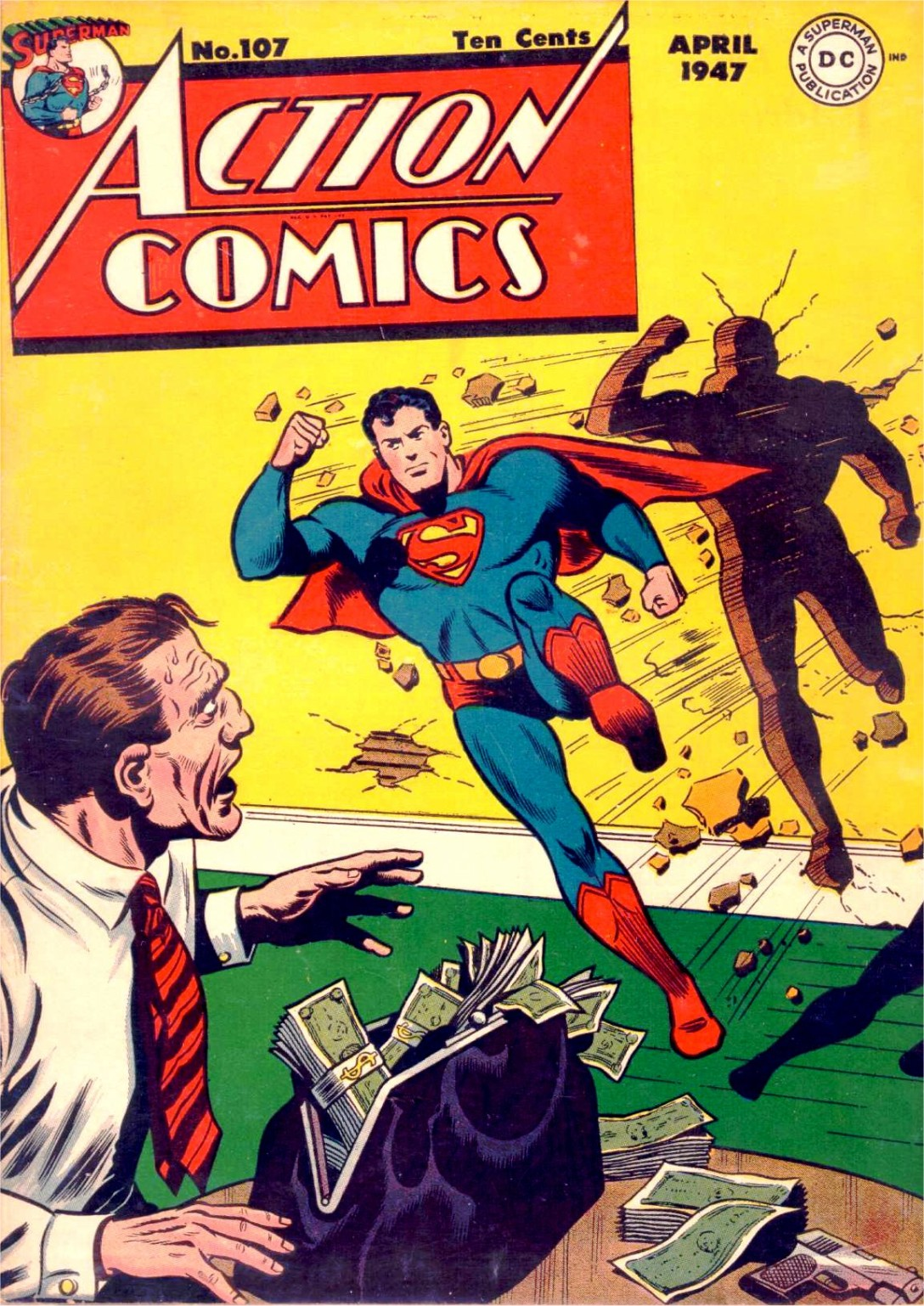 Read online Action Comics (1938) comic -  Issue #107 - 1