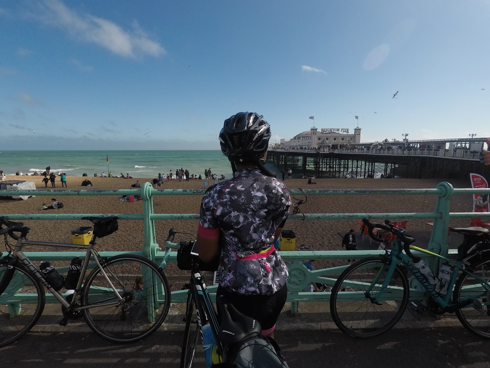 fuel for log rides - london to brighton finish
