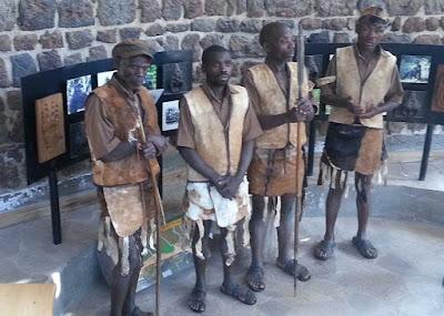 The Batwa pygmies