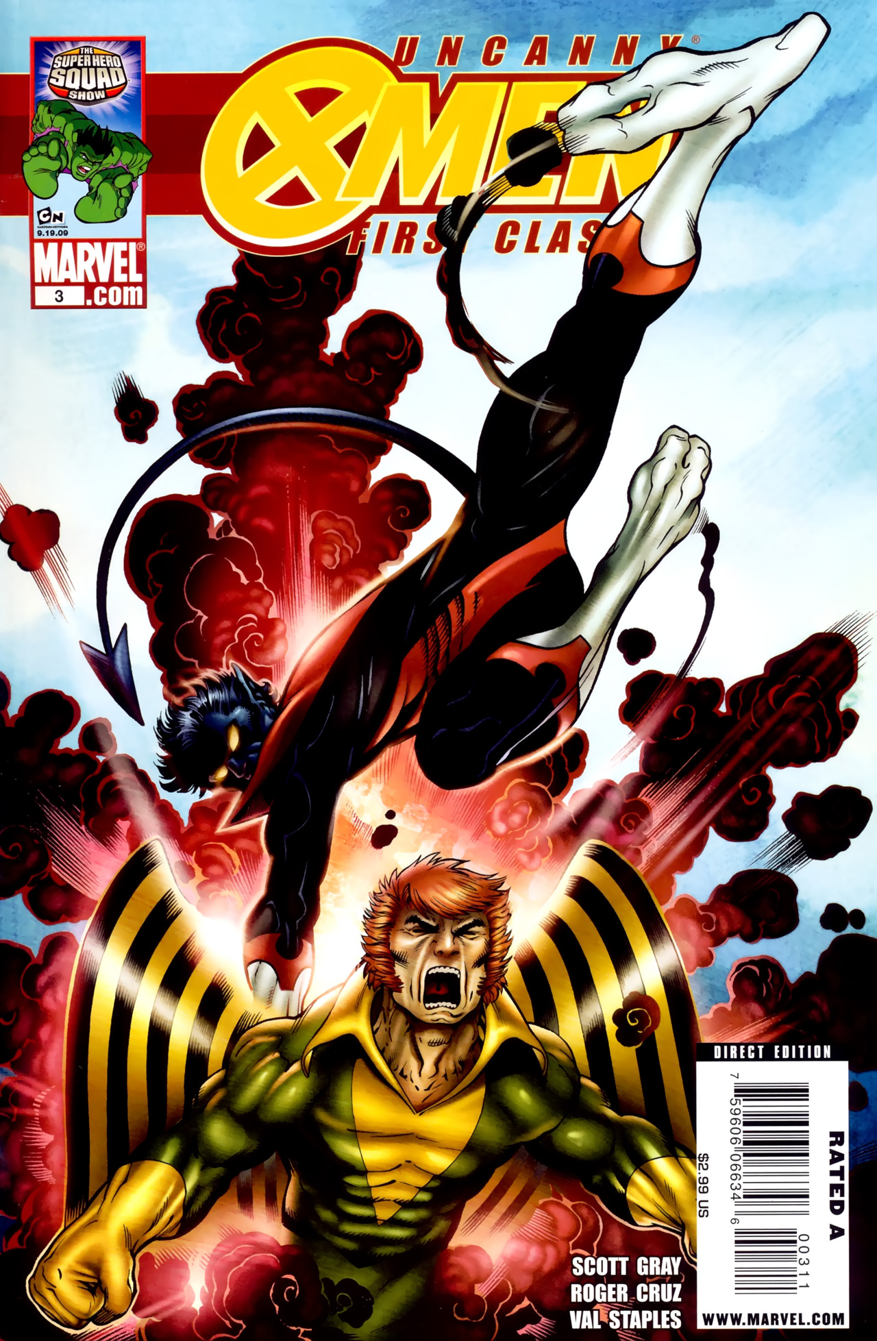 Read online Uncanny X-Men: First Class comic -  Issue #3 - 1