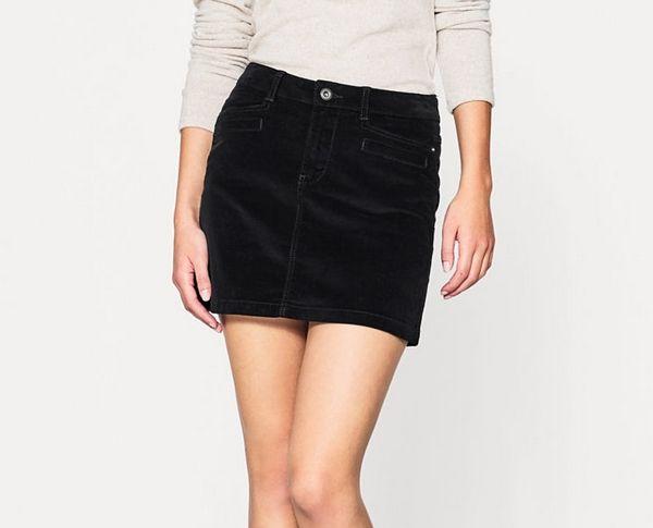 Mini jupe velours, Esprit - Quelle longueur de jupe choisir ? - Blog Mode
