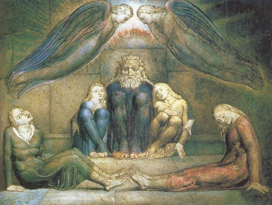 William Blake 1757-1827 |  Británica era poeta y pintor romántico