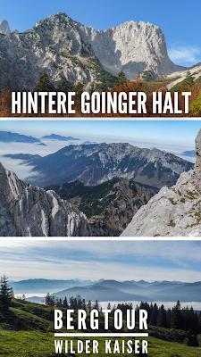 Wanderung auf die Hintere Goinger Halt bei Ellmau am Wilden Kaiser | Tourenbericht + GPS-Track | Outdoor-Blog | Kaisergebirge | Gaudeamushütte