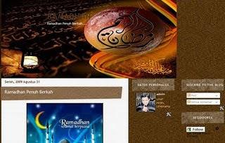 Raamadhan Template Blogger