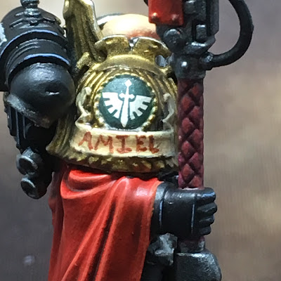 Deathwatch Watch Master Amiel close-up right side
