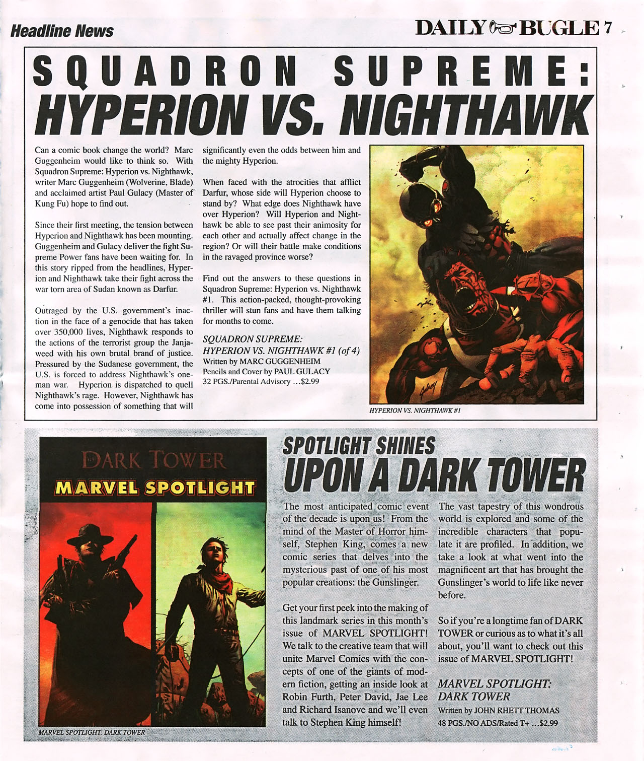 Read online Daily Bugle (2006) comic -  Issue #4 - 7