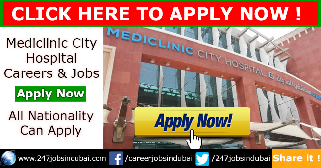 Jobs Opportunities at Mediclinic City Hospital and Careers
