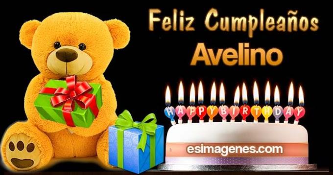 Feliz cumpleaños Avelino