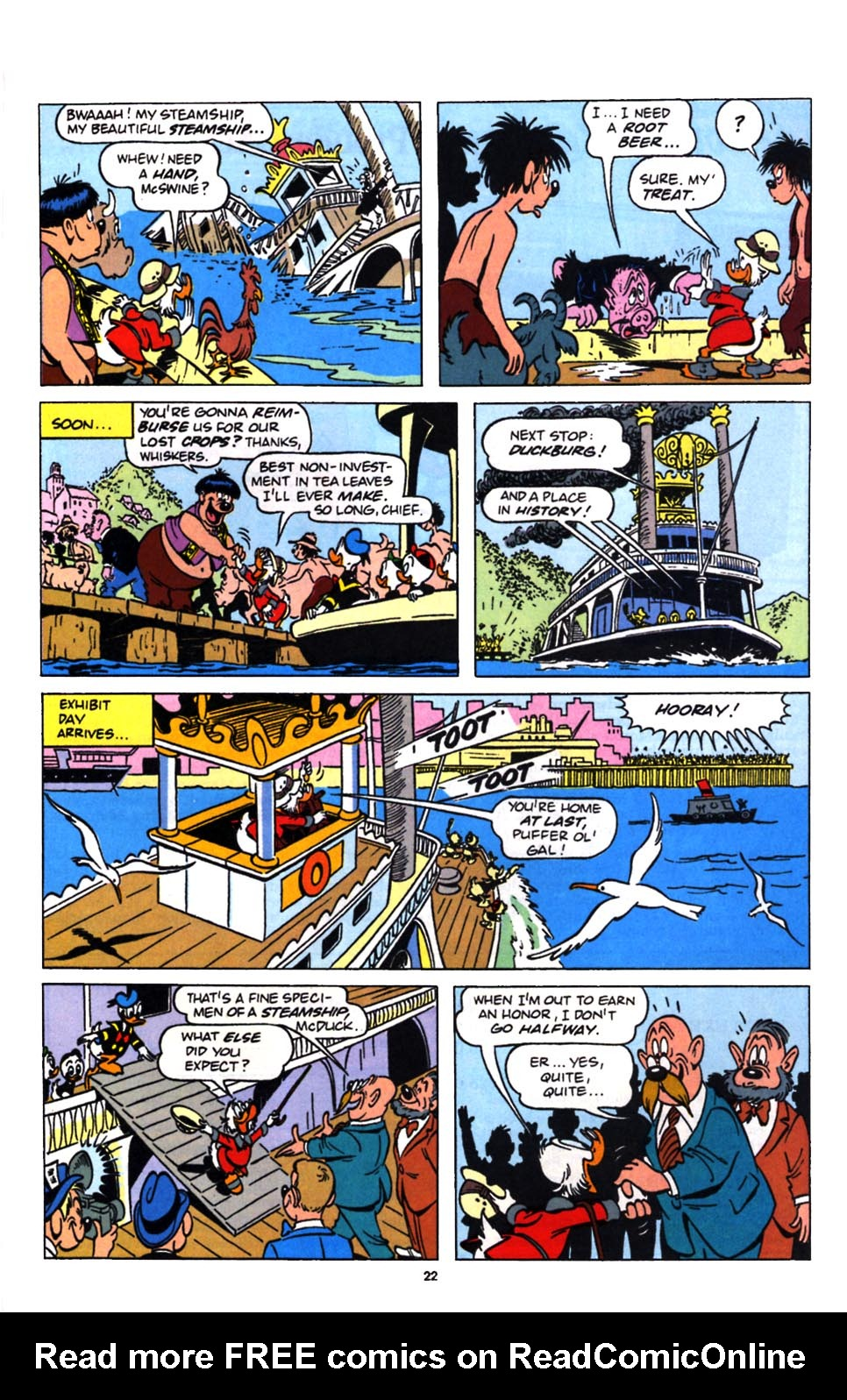 Read online Uncle Scrooge (1953) comic -  Issue #249 - 24